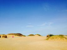 Paesaggio dei Gallinas di Punta immagini stock