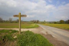 Paesaggio dei wolds di Yorkshire Immagini Stock