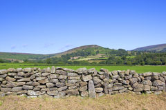 Paesaggio dei wolds di Yorkshire Fotografia Stock Libera da Diritti