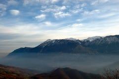 Paesaggio del Apennines Fotografia Stock