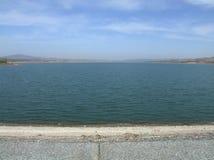 Paesaggio del bacino idrico Immagini Stock