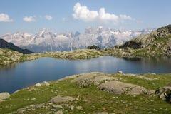 Paesaggio del Brenta da Segantini - l'Italia Fotografia Stock Libera da Diritti