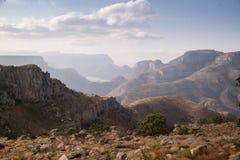 Paesaggio del canyon del fiume di Blyde, Africa immagini stock