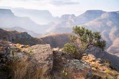 Paesaggio del canyon del fiume di Blyde, Africa fotografie stock