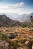 Paesaggio del canyon del fiume di Blyde, Africa fotografia stock libera da diritti