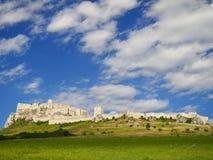 Paesaggio del castello Fotografia Stock