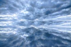 Paesaggio del cielo blu Fotografia Stock Libera da Diritti