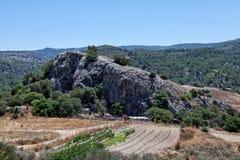 Paesaggio del Cipro, distretto di Pafo Immagini Stock Libere da Diritti