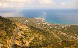Paesaggio del Cretan Immagine Stock