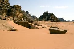 Paesaggio del deserto Immagini Stock