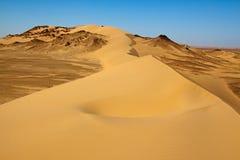 Paesaggio del deserto del Sahara, Egitto fotografie stock