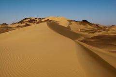 Paesaggio del deserto del Sahara, Egitto immagini stock