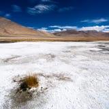 Paesaggio del deserto dell'alta montagna dell'Himalaya Immagini Stock Libere da Diritti