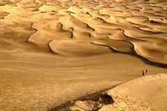 Paesaggio del deserto della Cina Xinjiang Immagine Stock