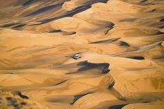 Paesaggio del deserto della Cina Xinjiang Fotografia Stock