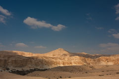 Paesaggio del deserto, Negev, Israele Fotografie Stock