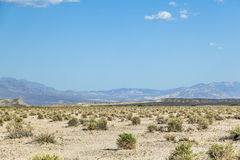 Paesaggio del deserto nel Death Valley Fotografia Stock