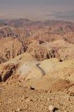 Paesaggio del deserto nel Giordano Fotografia Stock Libera da Diritti