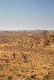 Paesaggio del deserto nel parco nazionale di Mapungubwe, Sudafrica Fotografia Stock