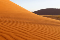 Paesaggio del deserto, Sossusvlei, Namibia Fotografia Stock Libera da Diritti