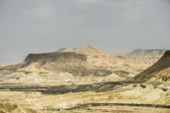 Paesaggio del deserto vicino a Gerusalemme, Israele Immagini Stock