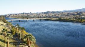 Paesaggio del fiume di colorado Fotografia Stock Libera da Diritti