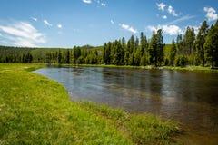 Paesaggio del fiume Snake Fotografie Stock