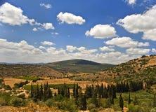 Paesaggio del Galilee Fotografie Stock Libere da Diritti