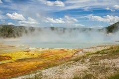 Paesaggio del geyser Fotografie Stock Libere da Diritti