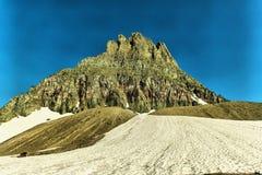 Paesaggio del ghiacciaio Fotografia Stock
