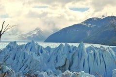 Paesaggio del ghiacciaio del ` s di Perito Moreno Fotografie Stock Libere da Diritti