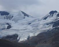 Paesaggio del ghiacciaio della montagna nell'Alaska Fotografia Stock Libera da Diritti