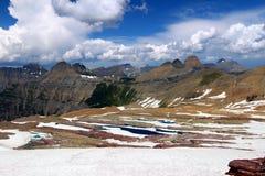 Paesaggio del ghiacciaio di Sperry - Montana Fotografie Stock