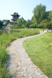 Paesaggio del giardino Fotografie Stock Libere da Diritti