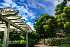 Paesaggio del giardino, Pune Fotografia Stock