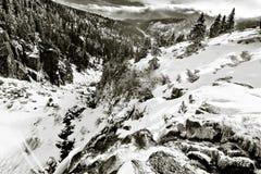 Paesaggio del gigante Fotografie Stock