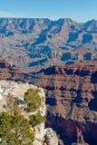 Paesaggio del grande canyon Fotografia Stock