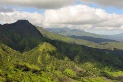 Paesaggio del Kauai sull'Hawai, S.U.A. immagine stock libera da diritti