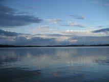 Paesaggio del lago Fotografia Stock