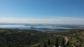 Paesaggio del lago Alqueva Fotografia Stock Libera da Diritti