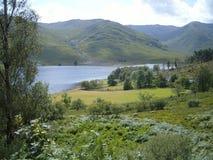 Paesaggio del lago dell'altopiano Fotografia Stock