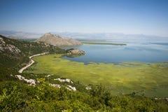 Paesaggio del lago Skadar fotografia stock libera da diritti