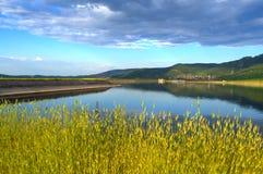 Paesaggio del lago summer immagine stock libera da diritti