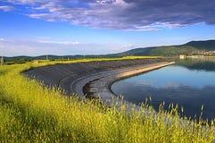 Paesaggio del lago summer immagini stock