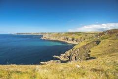Paesaggio del Land's End in Cornovaglia Inghilterra Fotografia Stock