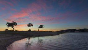 Paesaggio del lato del paese nell'Alentejo, Portogallo fotografia stock
