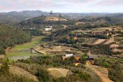 Paesaggio del Madagascar Immagini Stock