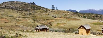 Paesaggio del Madagascar - vista panoramica Fotografia Stock