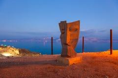 Paesaggio del mar Morto immagini stock libere da diritti