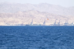 Paesaggio del Mar Rosso Immagini Stock Libere da Diritti